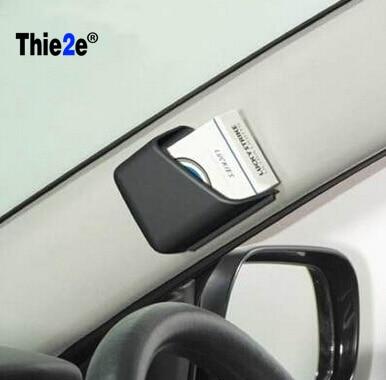 1Pair Mini Car Pillar Storage Box for Mitsubishi Grandis Outlander ASX RVR Pajero LancerEvo l200 l300 3000gt 3d 4m41