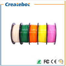 PLA colorful 3d printer filament / spool wire Createbot 3D printer 1.75mm 1KG one roll