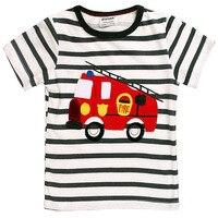 Cotton Short Sleeve Kids T Shirt for Boys Girls Comfortable Summer Children T Shirt Cartoon Baby Infant Toddler T Shirt