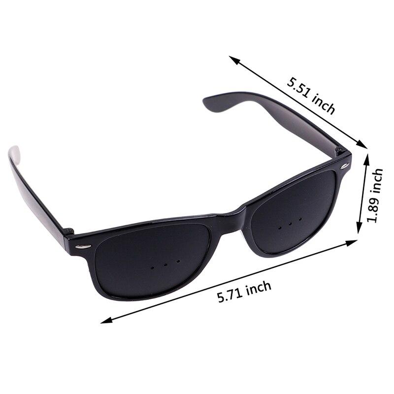 Unisex Vision Care Pin Hole Eyeglasses Hole Glasses Eye Exercise Eyesight Improve Plastic Natural Healing Cheap 3Styles 5