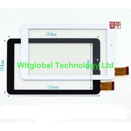 Witblue New touch screen For 7 Prestigio MultiPad Wize 3047 PMT3047 3G Tablet touch panel digitizer glass Sensor Free Ship new 8inch touch for prestigio wize pmt 3408 3g tablet touch screen touch panel mid digitizer sensor