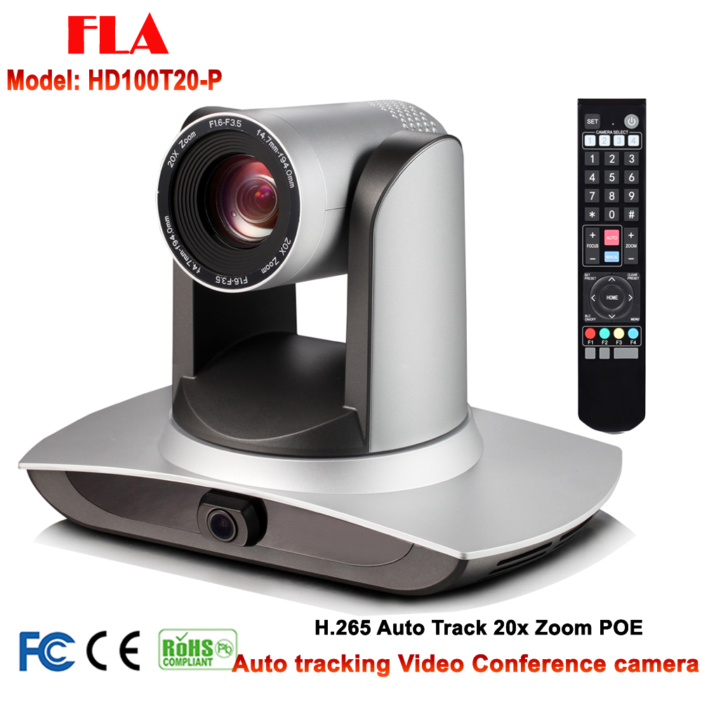 20x zoom auto motion tracking 1080P60 video conference live streaming PTZ IP POE camera image