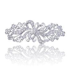 """2,7"""" родия серебряные броши с украшением в виде кристаллов со стразами идеально сочетаются с нарядным парфюм на подвеске винтажные булавки"""