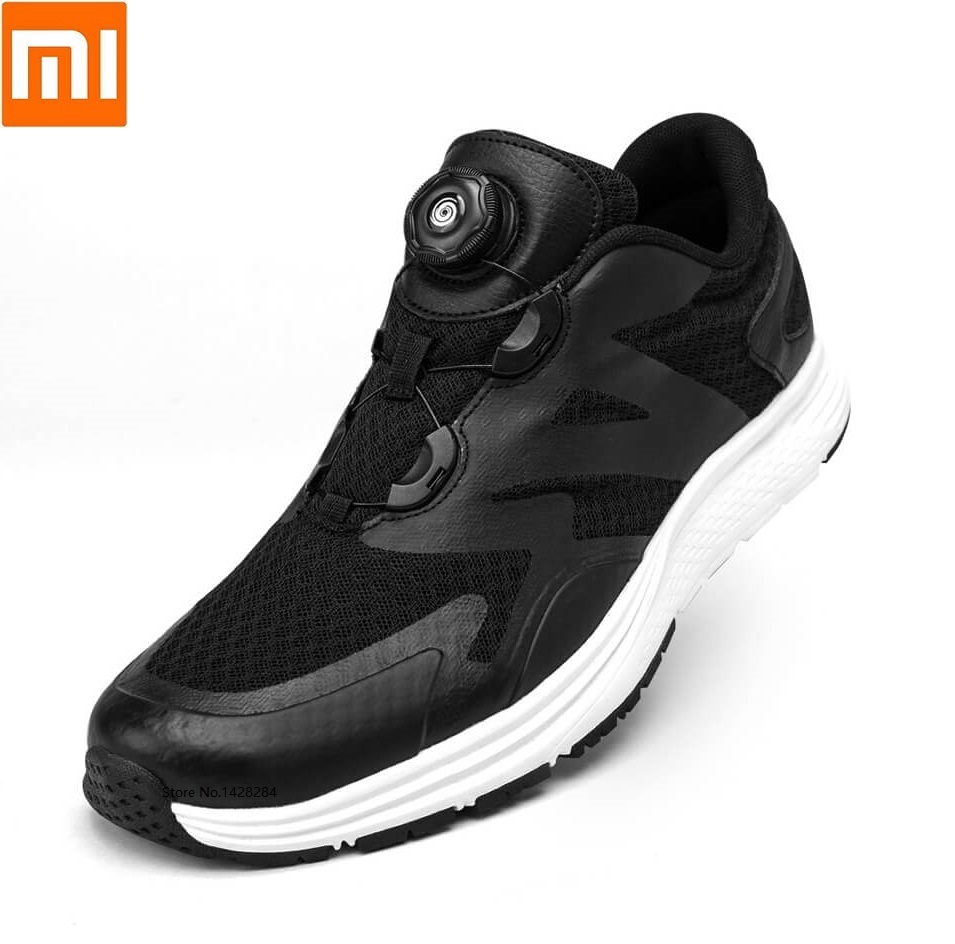Xiaomi Yuncoo men woman spin buckle Sports shoes Comfortable rebound Lightweight running Outdoor fitness male female
