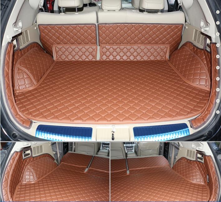 Хорошее качество! Специальные материалы ствола для Nissan Murano 2014-2008 водонепроницаемый грузового лайнера загрузки ковры для murano 2011, Бесплатная ...