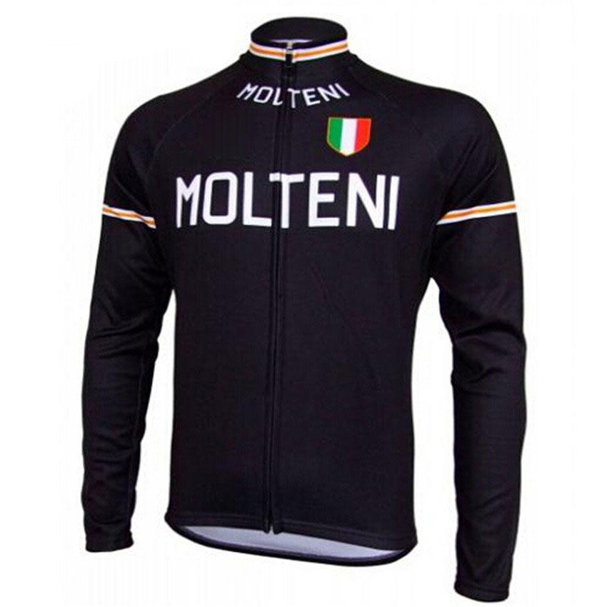 2018 MOLTENI cycling jerseys men long sleeve pro team thin retro cycling clothing mtb/road bike clothes bike jersey high quality hello kitty cycling jerseys mtb road bike clothes short sleeve large size sports jersey for girls