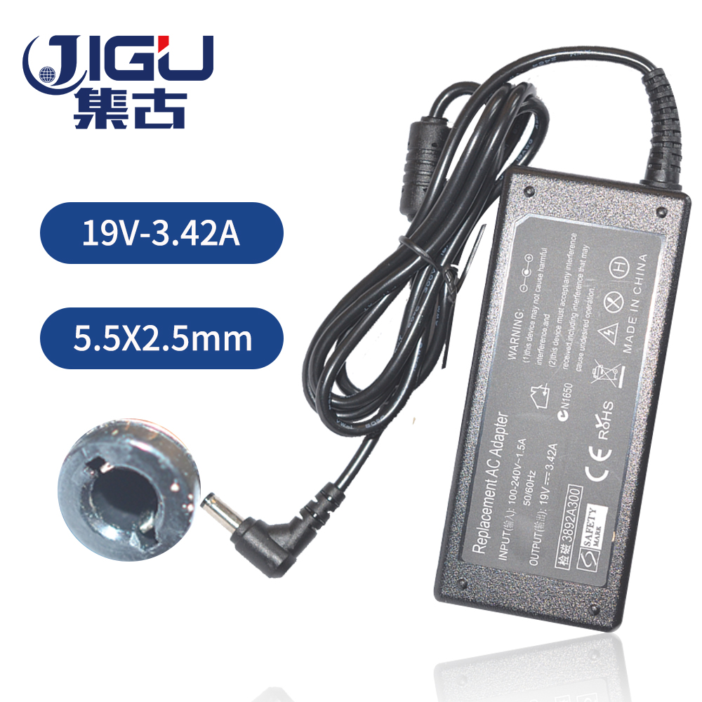 19V 3.42A 5.5*2.5mm 65W AC Power Adapter For <font><b>Toshiba</b></font> Satellite <font><b>L500</b></font> NB300 L300 L350 L775 U400 L755 R850 L730 C600 R700 charger image