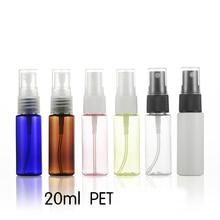 5pcs 20ml flat shoulder bottle Spray Small spray Watering can Fine mist water replenishing wholesale BQ158