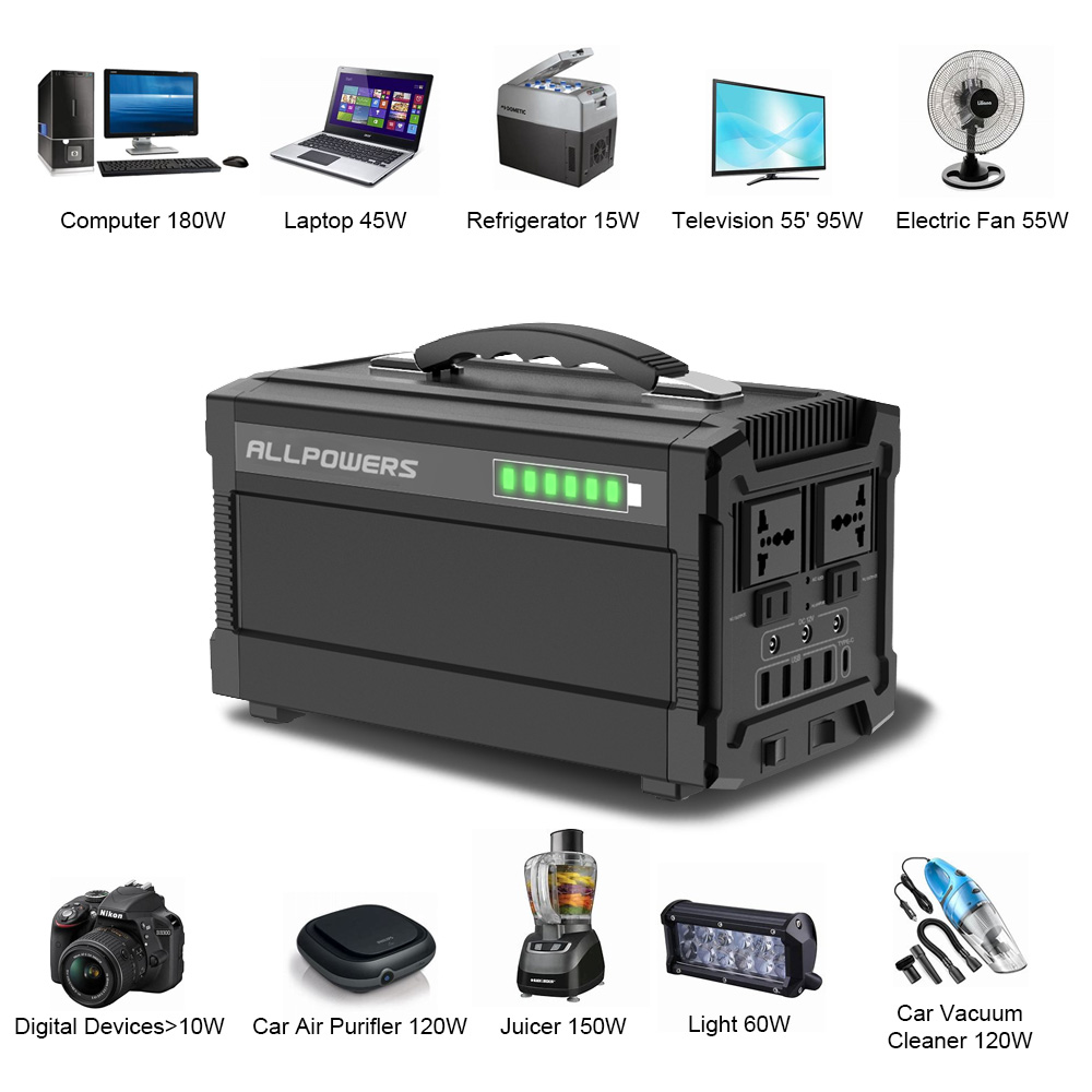 Image 3 - ALLPOWERS 220V Power Bank 78000mAh Portable Generator Power Station AC/DC/USB/Type C Multiple Output UPS Power Battery.-in Power Bank from Cellphones & Telecommunications