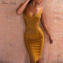 7437b06894a Желтый Трикотажные Платья – Купить Желтый Трикотажные Платья недорого из  Китая на AliExpress