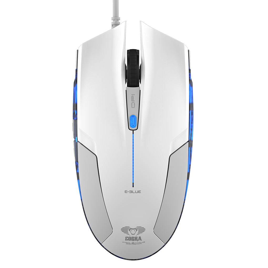 E-3lue EMS109 Wired Optical Gaming Mouse 2400DPI LED Light USB Computer Laptop Mause Mice 129*64*39mm