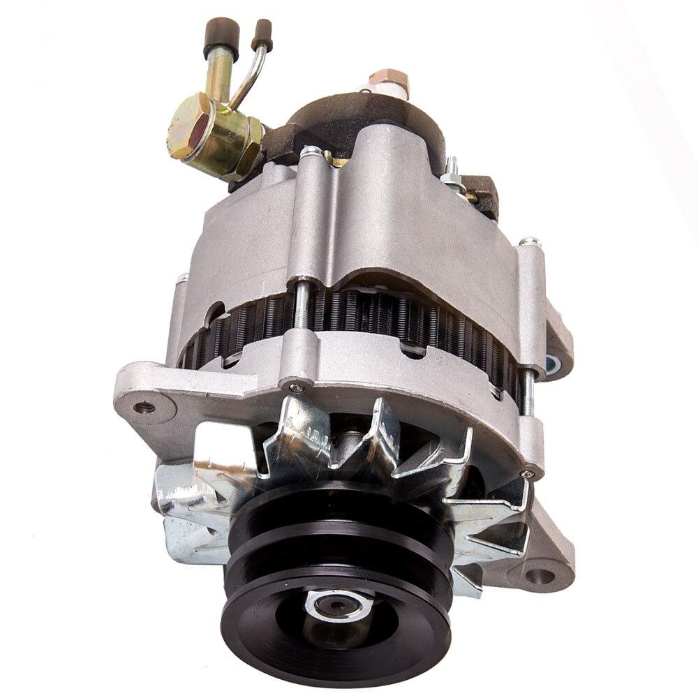 Alternateur 80 A 12 V adapté pour Nissan Urvan patrouille GQ GU TD42 E24 moteur TD27 2.7L diesel 1987-1993 LR170-407