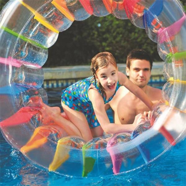 250813b0 Hot Sale Large Inflatable Land Wheel Jumbo Party Wheel Kids Indoor Outdoor  Pool Playing 19ing