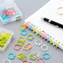 Creative Colored Easy Ring Paper Notebook Loose Lea