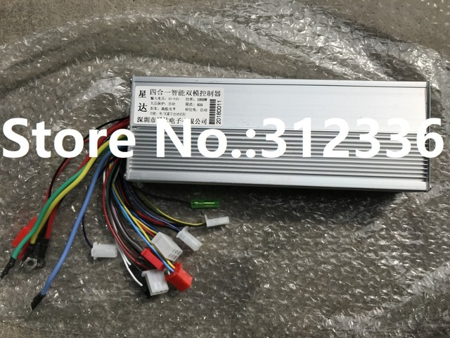 Free Shipping 1000W 60V DC 18 mofset brushless motor controller E-bike electric bicycle speed control