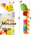 Mini Brinquedo Macio Lagarta Chocalho Boneca Crianças Playmate Brinquedos Do Bebê a calma Coruja espreita-uma-boo Boneca Bonito Presente Para As Crianças Crianças Quente bebê