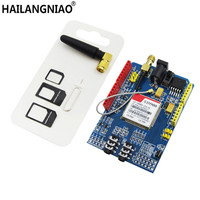 Free Shipping 1PCS LOT SIM900 GPRS GSM Shield Development Board Quad Band Module For Compatible