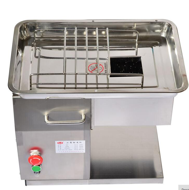 With 3 blades 110v 220v QX meat cutter machine electric 550w meat slicer