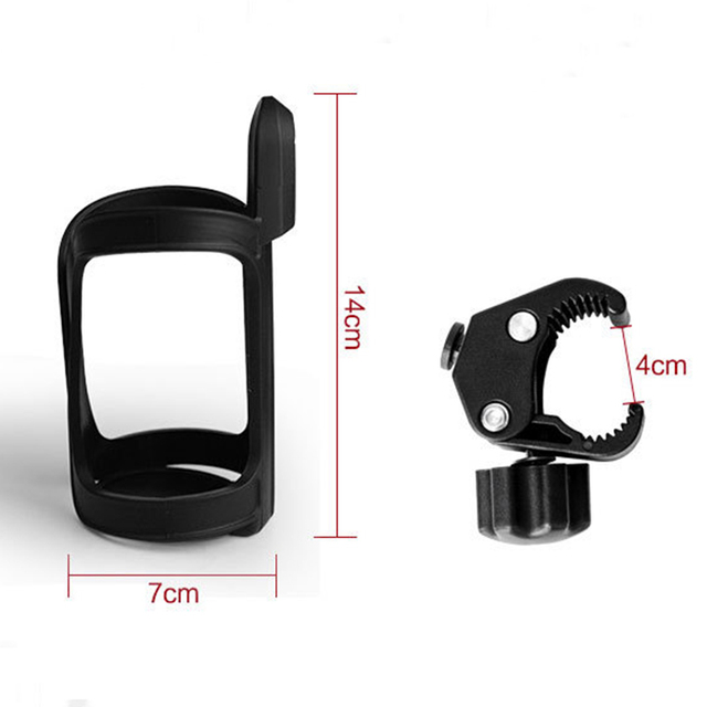 Baby Stroller Accessories Bottle Holder Pram Cart Cup Rack for Milk Water Pushchair Carriage Buggy Universal Bicycle Bike
