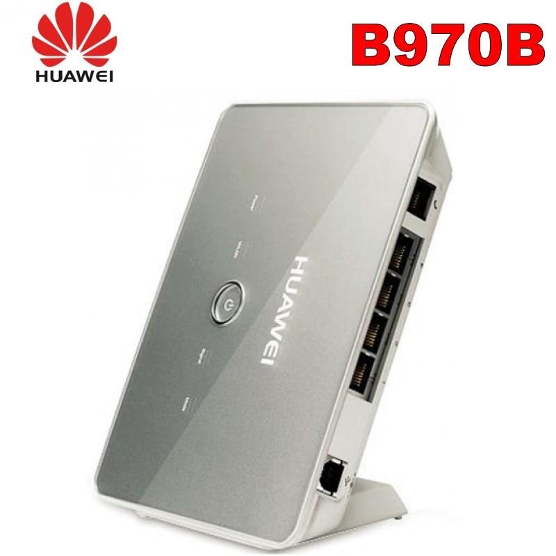 HUAWEI B970b 3G Router HSDPA +/EDGE/GSM 3G WIFI con 4 porte LAN + 1 RJ11 Porta sbloccato gateway wirelessHUAWEI B970b 3G Router HSDPA +/EDGE/GSM 3G WIFI con 4 porte LAN + 1 RJ11 Porta sbloccato gateway wireless