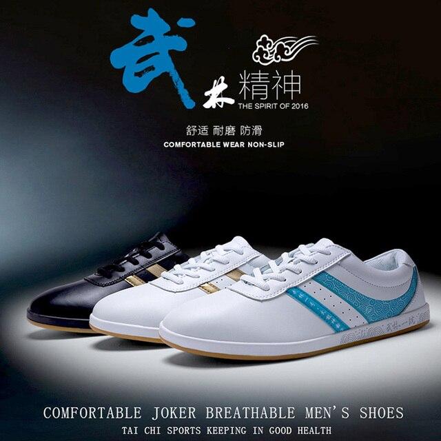 Дышащая Натуральная кожа Тай-Чи обувь Свет боевых искусств обувь Тонкие подошвы мягкий Термопластичный эластомер подошвы Примечание размер