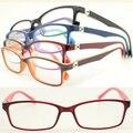Atacado 8322 aluno TR90 colorido squre armações de óculos óptica full-aro ultra leve w durable primavera dobradiça frete grátis