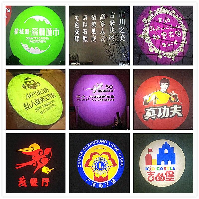 Luzes de Publicidade luz lâmpada de projeção projeção Modelo Número : Logo Disk