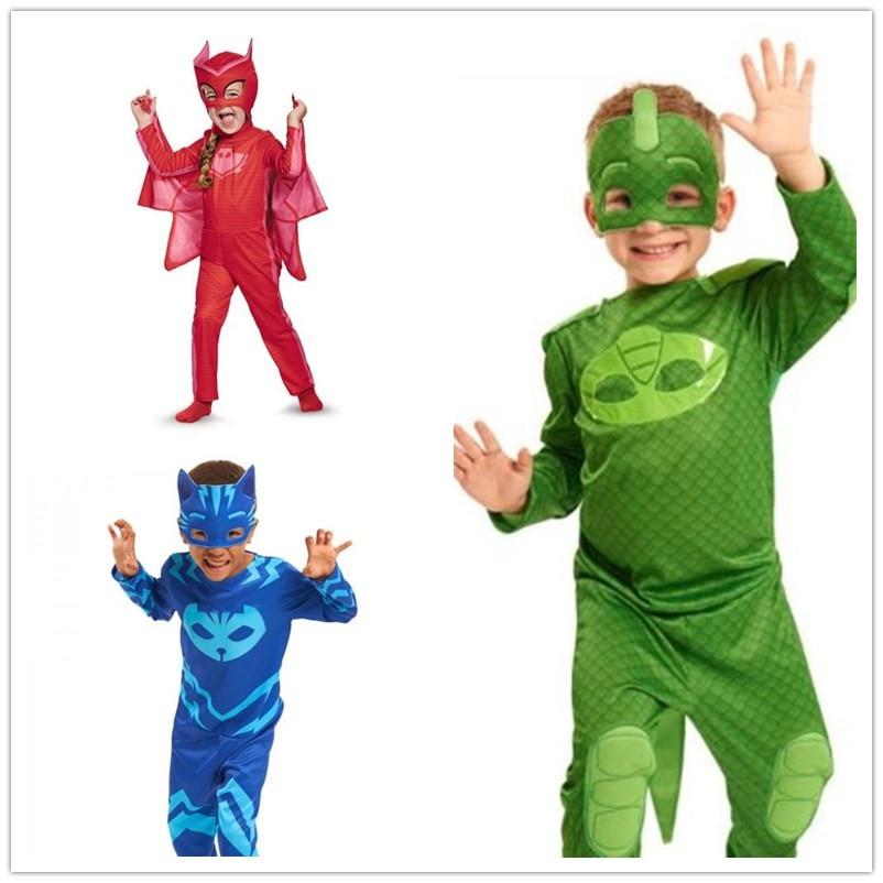 PJ ימי הולדת Cosplay תלבושות ילדים עור - תחפושות