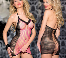 2015 Sexy Lace Neck Fishnet Body Stocking Sexy Lingerie Nets Clothings Sex Costumes Mesh Fishnet Open Crotch Bodystocking