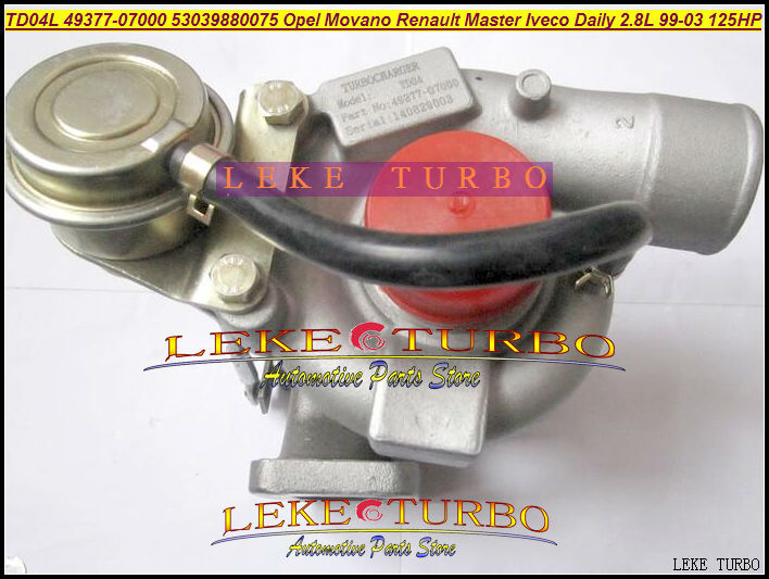 Turbo TD04L 49377-07000 500372214 53039700075 751578 For IVECO Commercial Daily For OPEL Movano Master 99-03 8140.43S.4000 2.8L  цены
