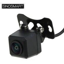 Sinosmart Universele Brede Kijkhoek Draagbare Reverse Parking Camera Verstelbare Lens Stevige Installatie Met Roestvrij Metalen Schroef