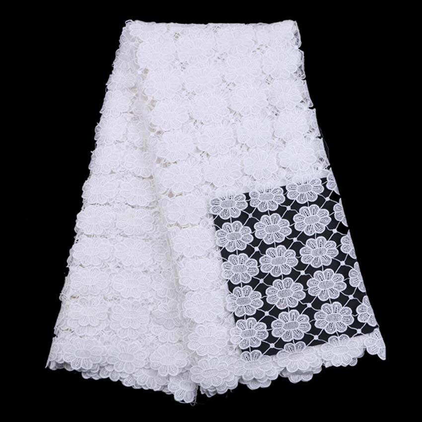 African Lace Fabric жоғары сапалы African Cord Lace 2016 - Өнер, қолөнер және тігін - фото 1