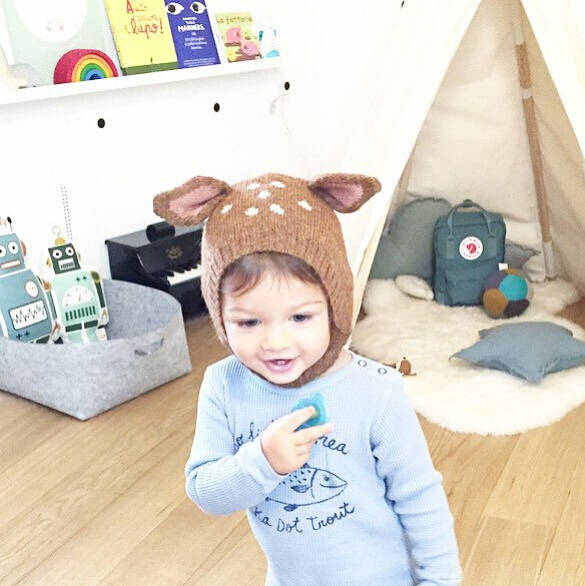 8bd567b6db2 placeholder Baby Hat Winter Warm Newborn Cap Long Ear Rabbit Knit Hats  costume Baby Kids Muts Toddler