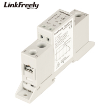 цена на TRA48D10K DC AC SSR Solid State Relay Din Rail Holder 10A 42-480VAC Ouput Input 5V 12V 24V 32VDC LED Signal Remote Control Relay