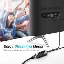 Ugreen Chromecast Ethernet Adapter USB 2.0 to RJ45 for Google Chromecast 2 1 Ultra Audio 2017 TV Stick Micro USB Network Card