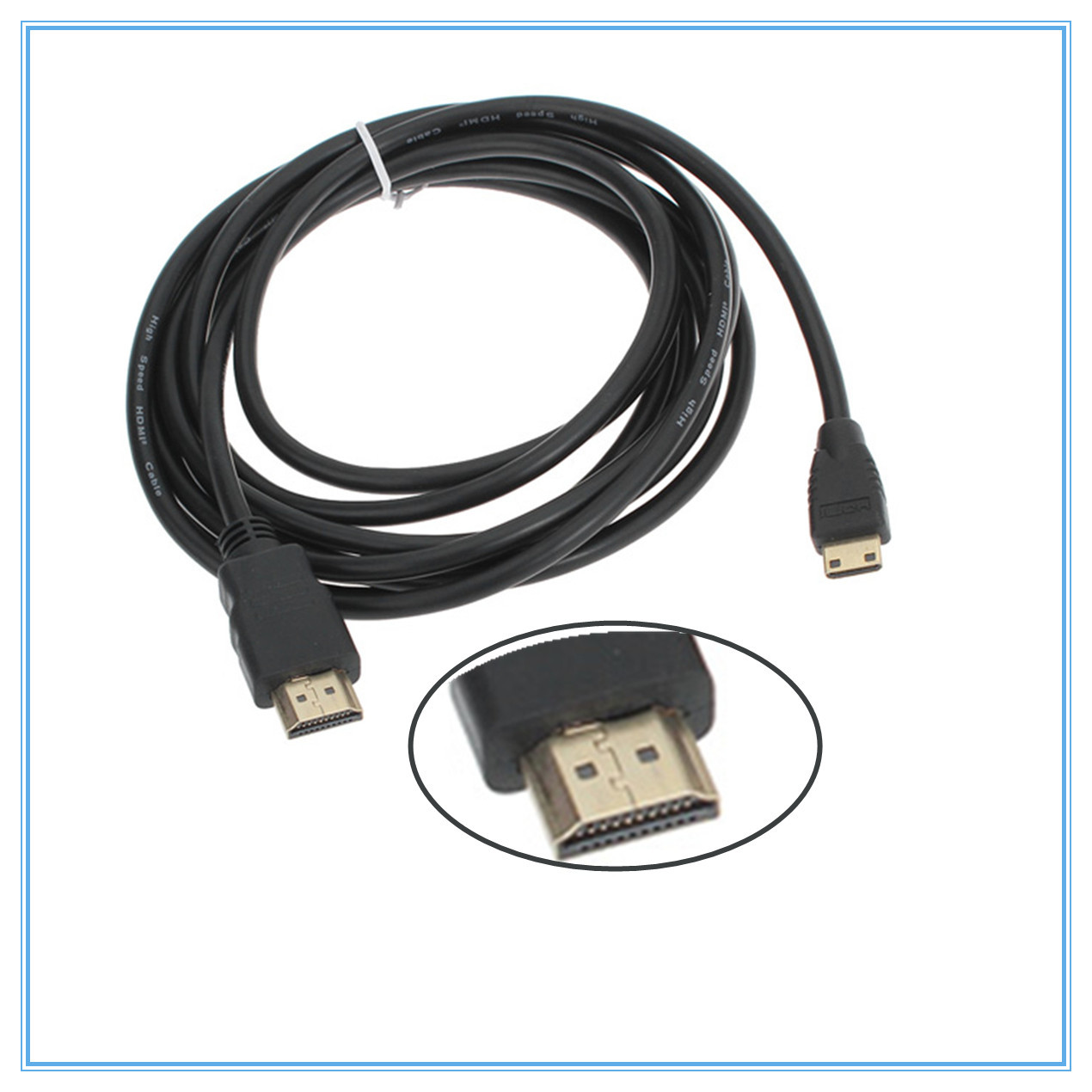 Mini Hdmi To Cable 3 Meters 1080p Hd Data Transfer Line Wiring Wire For Tv Lcd Pc Ps3 In Cables From Consumer Electronics On
