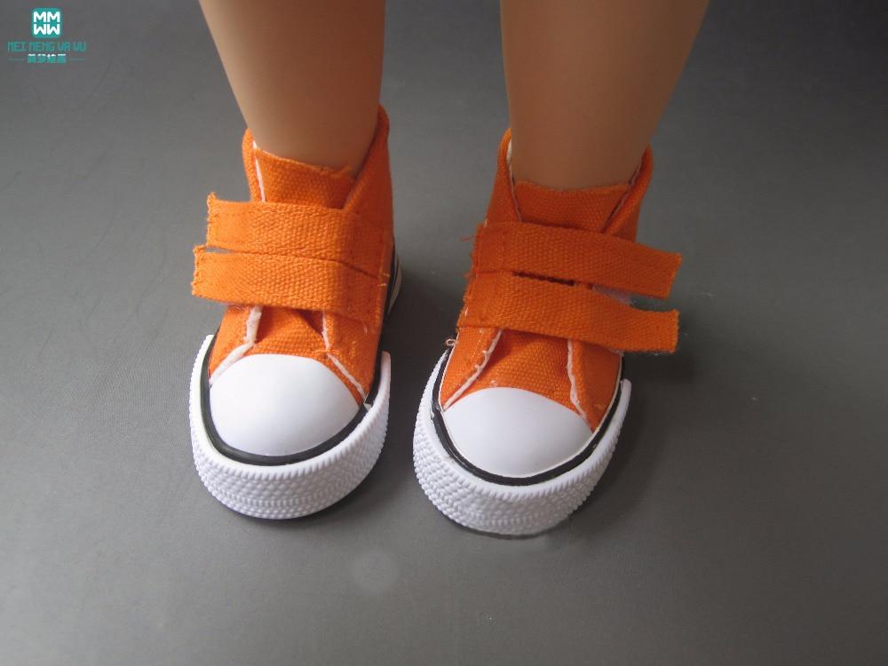 Aksesoris Boneka Mini Sepatu grosir ulticolor 7.5cm Sepatu Kanvas - Boneka dan mainan lunak - Foto 4