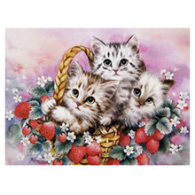5D Diy diamond painting cross stitch 3D  embroidery kits animal picture  mosaic Home decoration 20*30cm 3d diy diamond painting horse picture mosaic 5d cross stitch full square diamond embroidery kits animal painting home decor