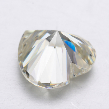 Pass a diamond tester I-J-K color loose moissanites 8*8mm heart shape moissanites stone for jewelry making