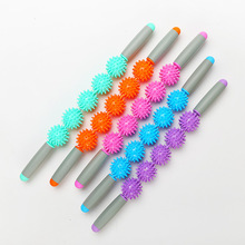 Muscle Massage Roller Yoga Stick Body Relax Tool Sticks with Point Spiky Ball block