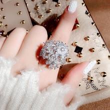 New Luxury AAA Cubic Zirconia Elegant Bowknot Wedding Rings