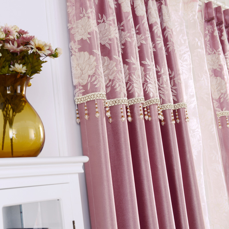 Insulated Curtains Full Blackout Draped Curtains Soundproof Sheer Fabric  Drapes For Bedroom Room Divider Luxury Roman Shades In Curtains From Home U0026  Garden ...