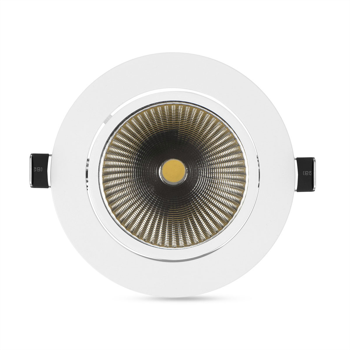 Led Ceiling Spotlight Fixtures: Warm Cool White AC 100 245V COB LED Ceiling Spotlight 7W