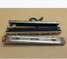 Spezielle fader SC 100G 128 MM lange mischer doppel Slide Potentiometer B10KX2 10C  10PCS/LOT