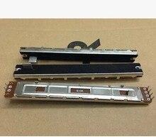 Özel fader SC 100G 128 MM uzun mikser çift Slayt Potansiyometre B10KX2 10C  10PCS/LOT