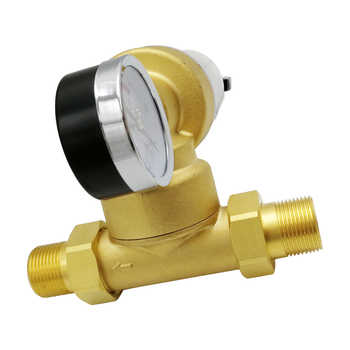 """1/2\"""" Inch 3/4\"""" Inch 1\"""" inch water pre Filter Universal 360 degree rotary joint Copper backwash Water Purifier Descaling"""