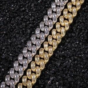 Image 3 - THE BLING KING collares de cadena de eslabones cubanos de Zirconia cúbica, joyería de calidad superior