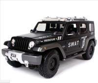 Maisto 1:18 JEEP Rescue Concept SWAT Diecast Model SUV Car NEW IN BOX