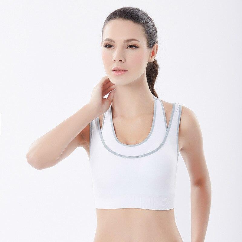 Sports Active Bra Push Up Wear Tops Shockproof for Women Gym Brassiere Casual Active Bras Cross Crop Top Female Bra Women in Bras from Underwear Sleepwears