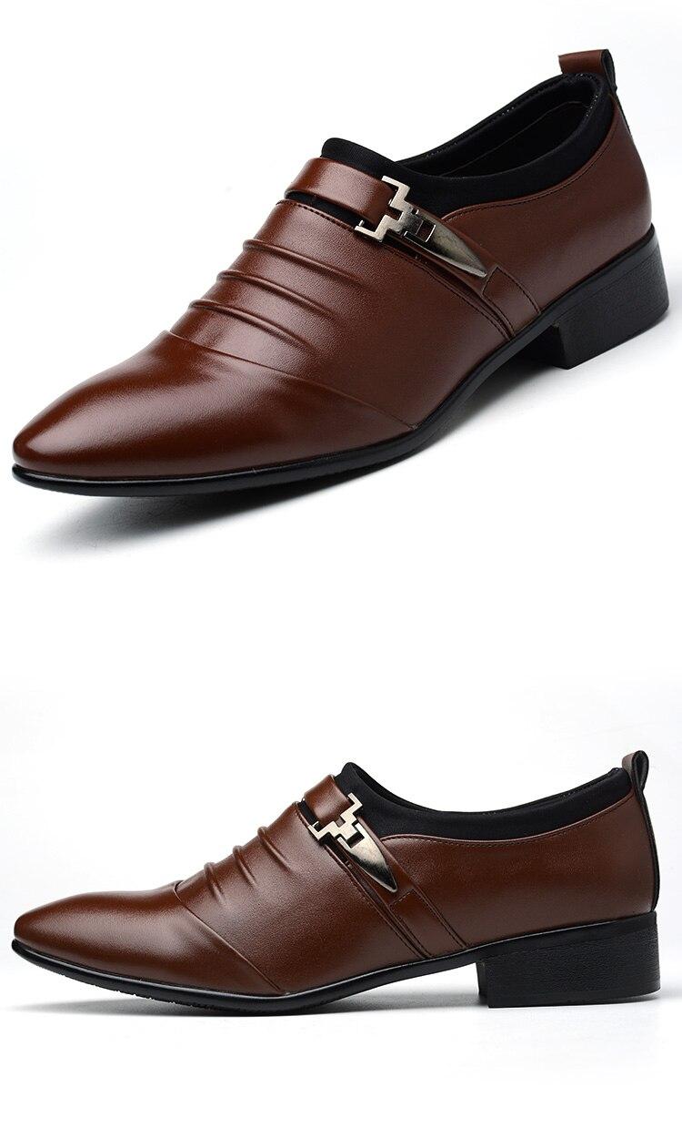 homem sapatos de oxford formal para homem mocassins masculino